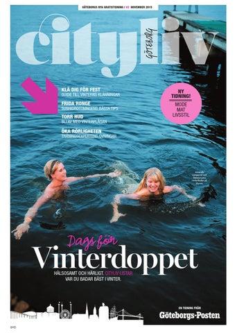 38a9cd666b6 Cityliv26november2015 syd by Göteborgs-Posten - issuu