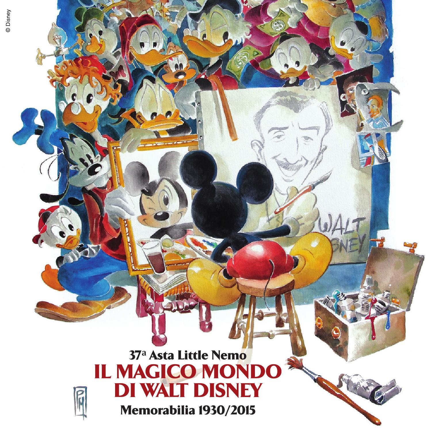 Auction il magico mondo di walt disney s