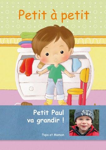 Livre Personnalise Pour Bebe Petit A Petit Creermonlivre