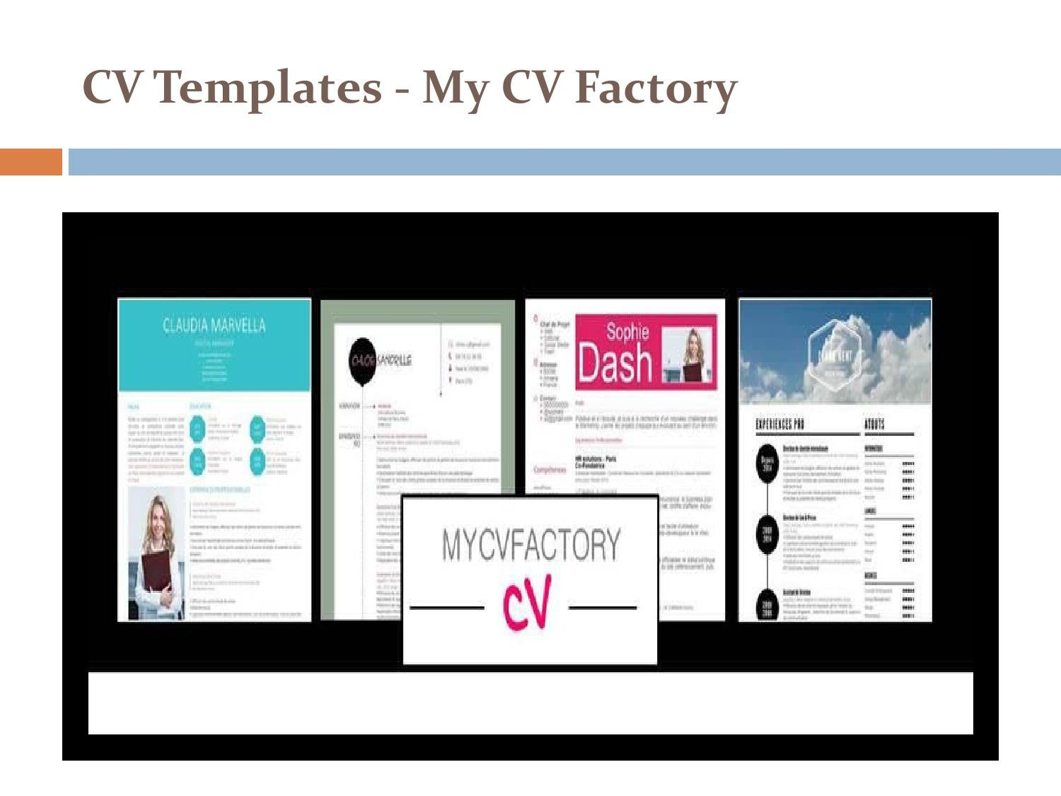 design cv - my cv factory by builder cv