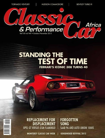 b1f785571e Classic & Performance Car Africa December/January 2015/16 by classic ...