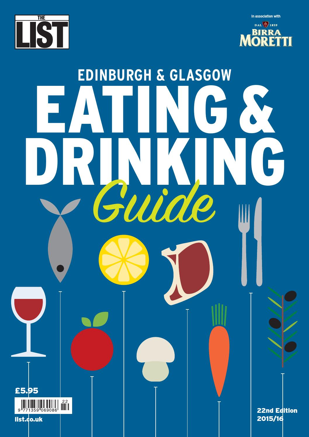 Eating and Drinking Guide by The List Ltd - issuu