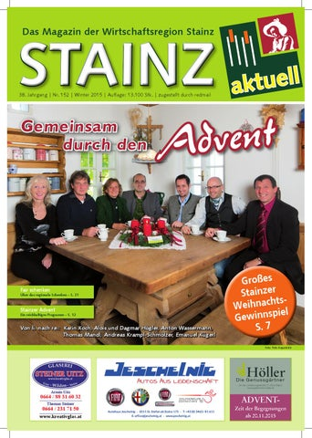 0ddd20eefdc7 Stainz Aktuell November 2015 by Patrick Haslwanter - issuu