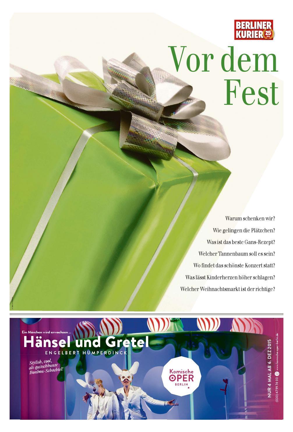 Vor dem Fest by Berlin Medien GmbH - issuu