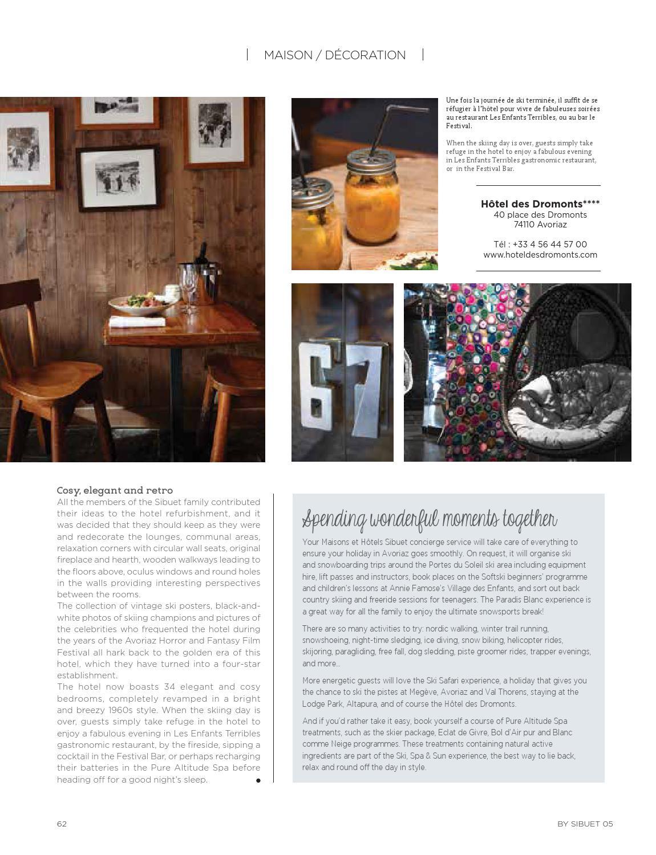 Bar Design Pour Maison by sibuet #5maisons & hôtels sibuet - issuu