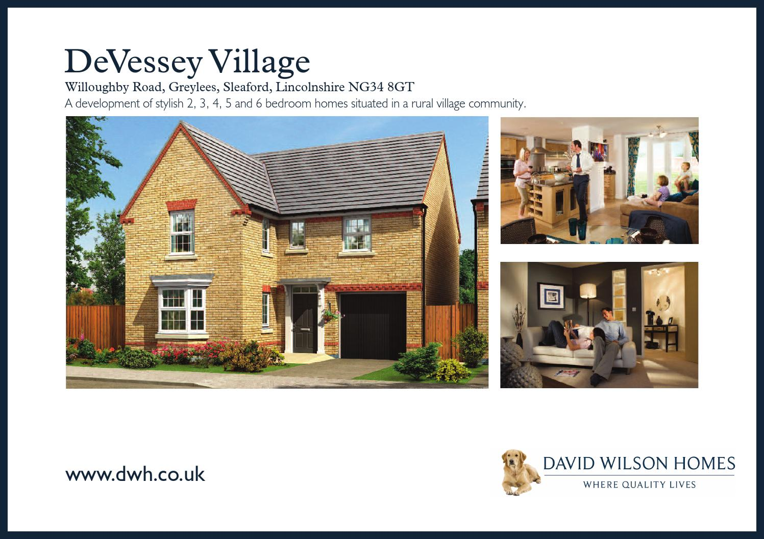 David Wilson Devessey Village By Newhomesforsale Co Uk Issuu