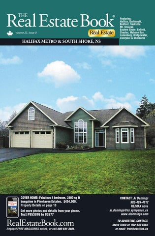 Volume 23 No 9 By The Real Estate Book Nova Scotia Issuu