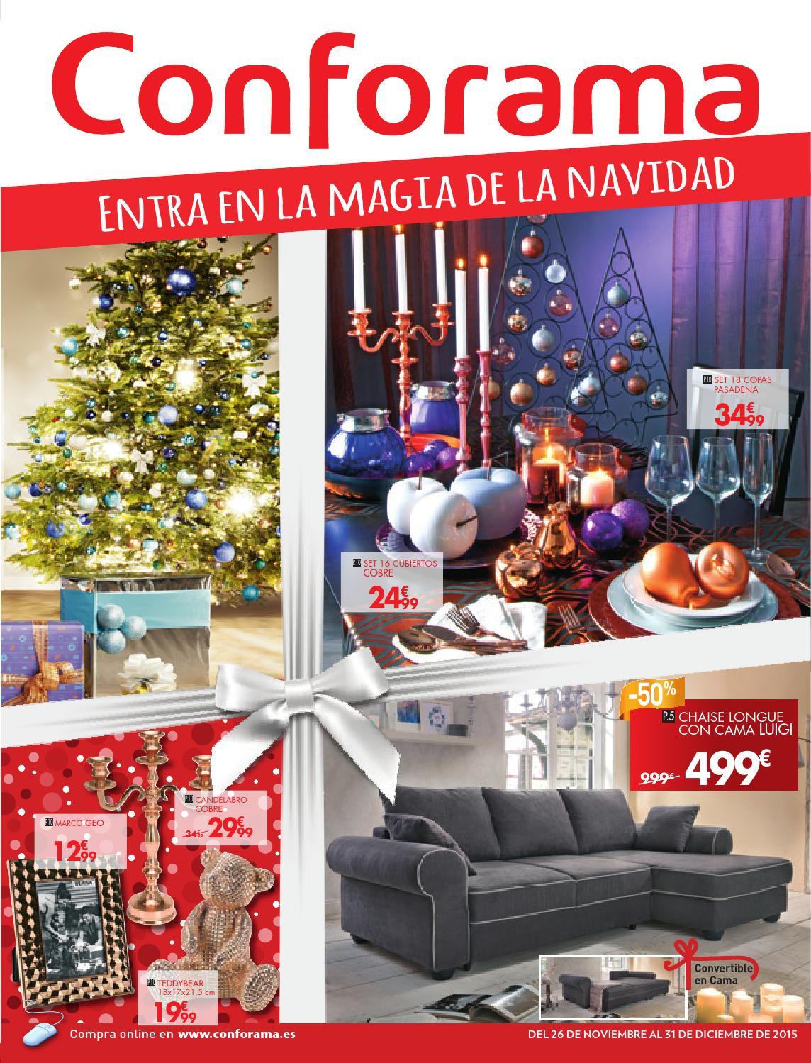 Conforama Catalogo 26noviembre 31diciembre2015 By  # Muebles Max Descuento Alfafar
