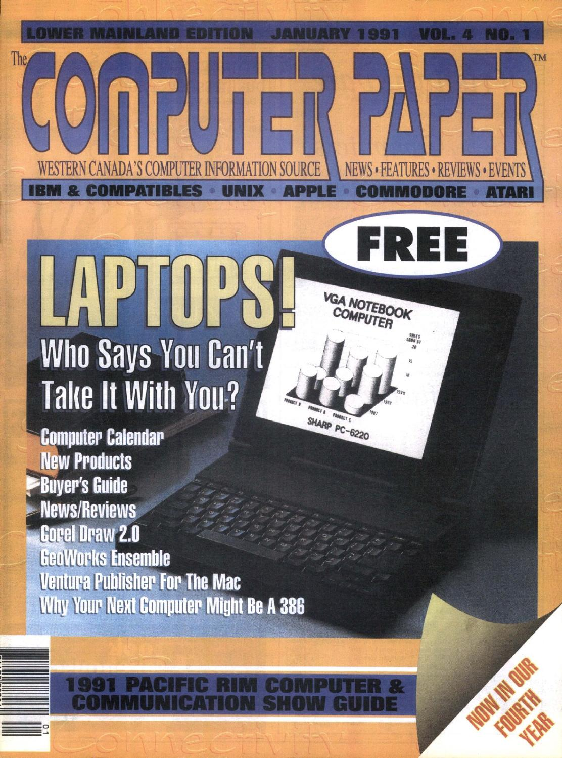 1991 01 The Computer Paper Bc Edition By Issuu Nte Electronics Circuit Samsung T100 T108