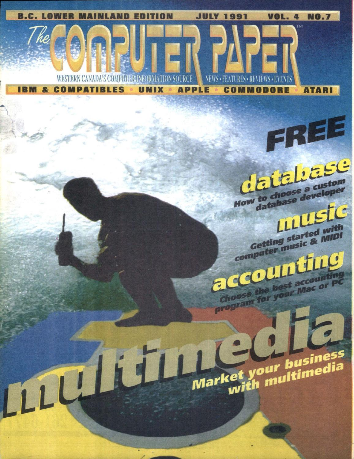 1991 07 The Computer Paper - BC Edition by The Computer Paper - issuu