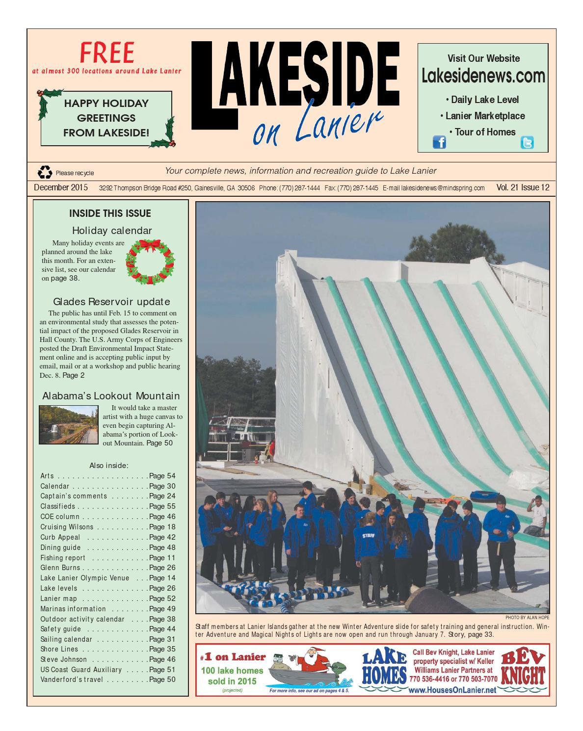 Lakesideonlanierdecember2015 by Lanier Publishing Inc  - issuu