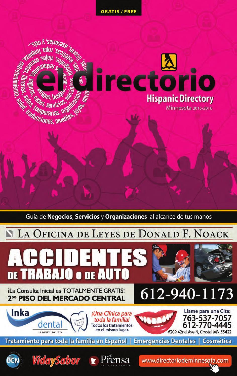 El Directorio 2015 2016 by Latino Communications Network LLC - issuu