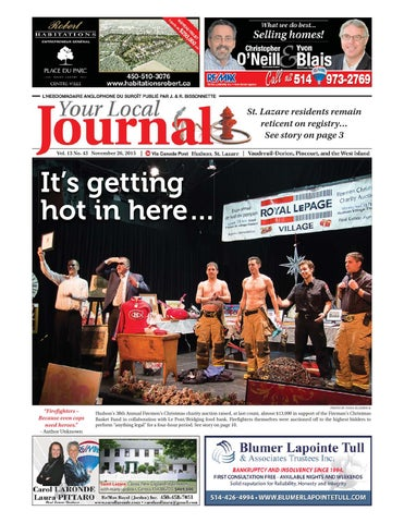 b5ea5f90fb13 Your Local Journal - Nov. 26, 2015 by Your Local Journal - issuu