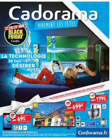 2015 Conforama Black Friday By Catalogues Black Friday