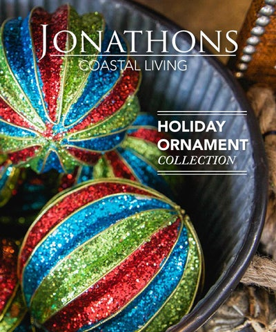 Holiday Ornament Collection By Jonathons Coastal Living   Issuu