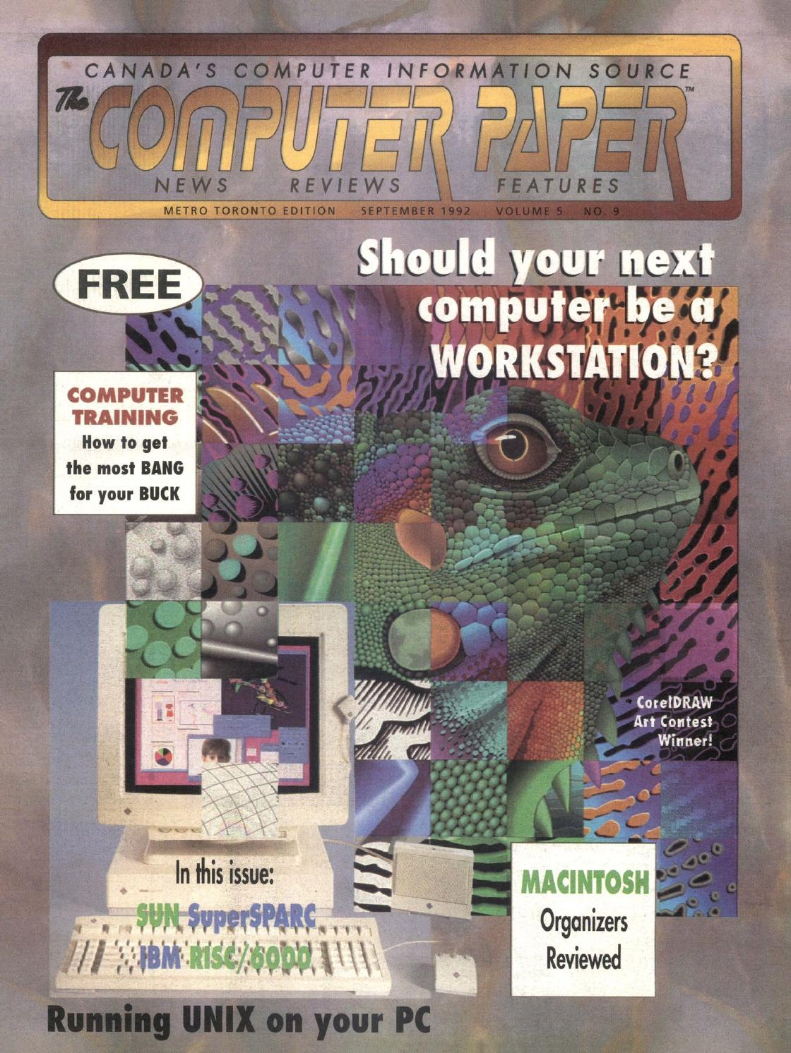 1992 09 the computer paper ontario edition by the