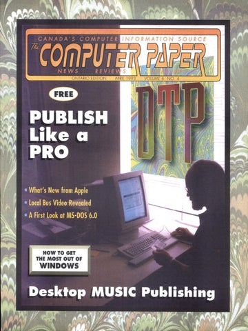 1993 04 The Computer Paper - Ontario Edition by The Computer