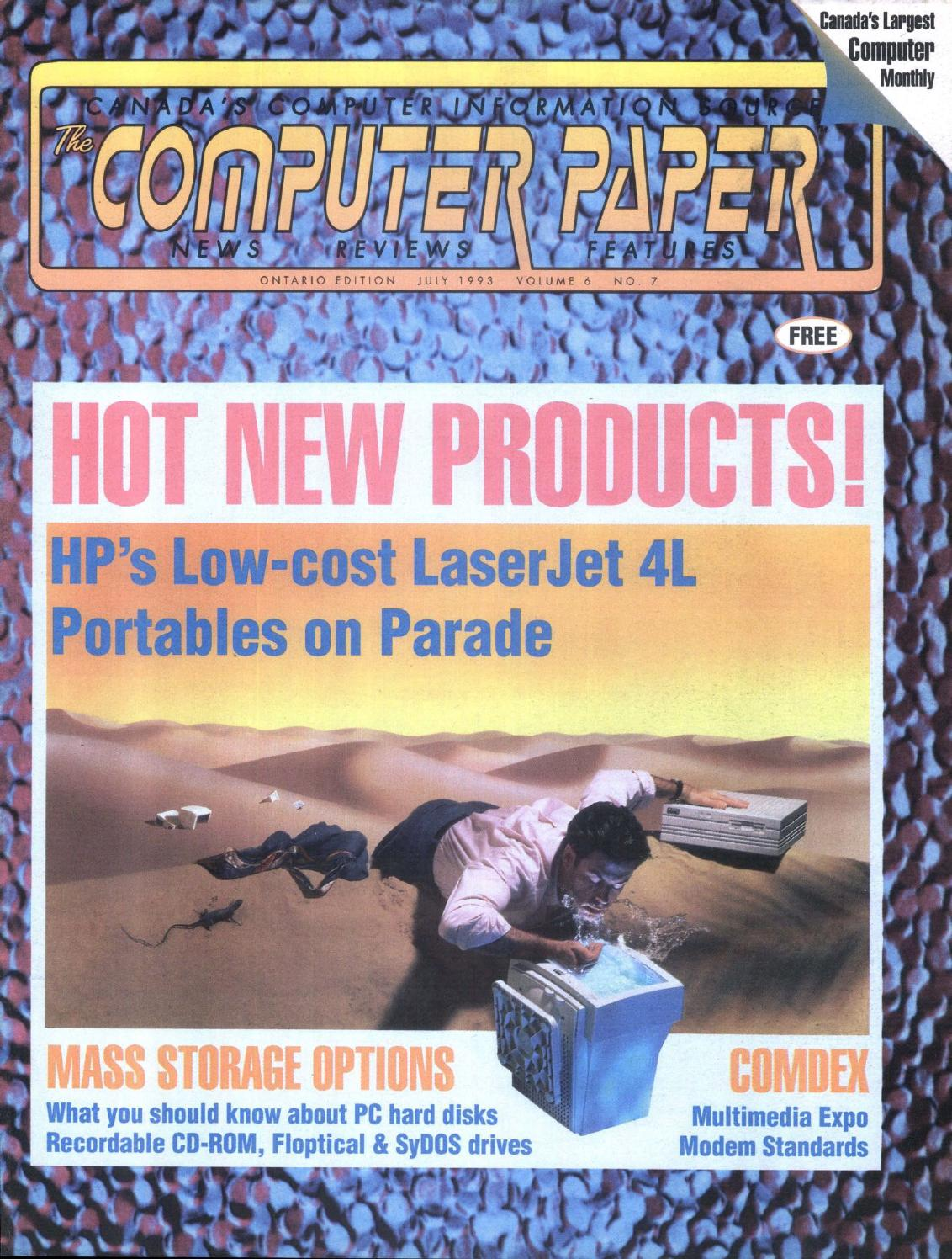 1993 07 The Computer Paper - Ontario Edition by The Computer