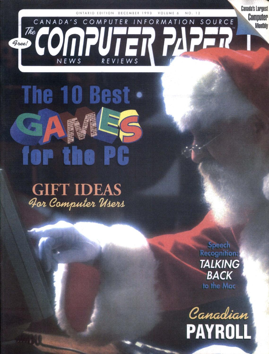1993 12 The Computer Paper Ontario Edition By Fan Intel Soket 478 Ori Tebal Issuu