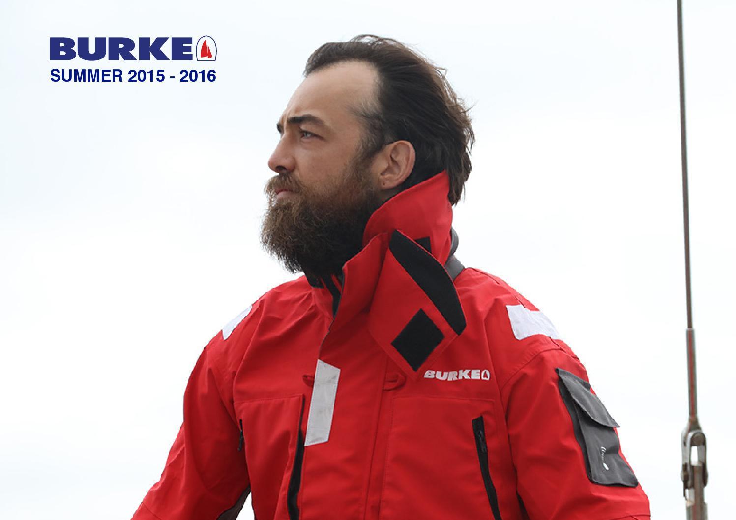 Burke Bass Jacket 100/% Waterproof Sailing//Yachting//Fishing// Safety Red CB10 New