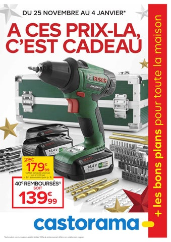castorama catalogue 25novembre 4janvier2015 by issuu. Black Bedroom Furniture Sets. Home Design Ideas