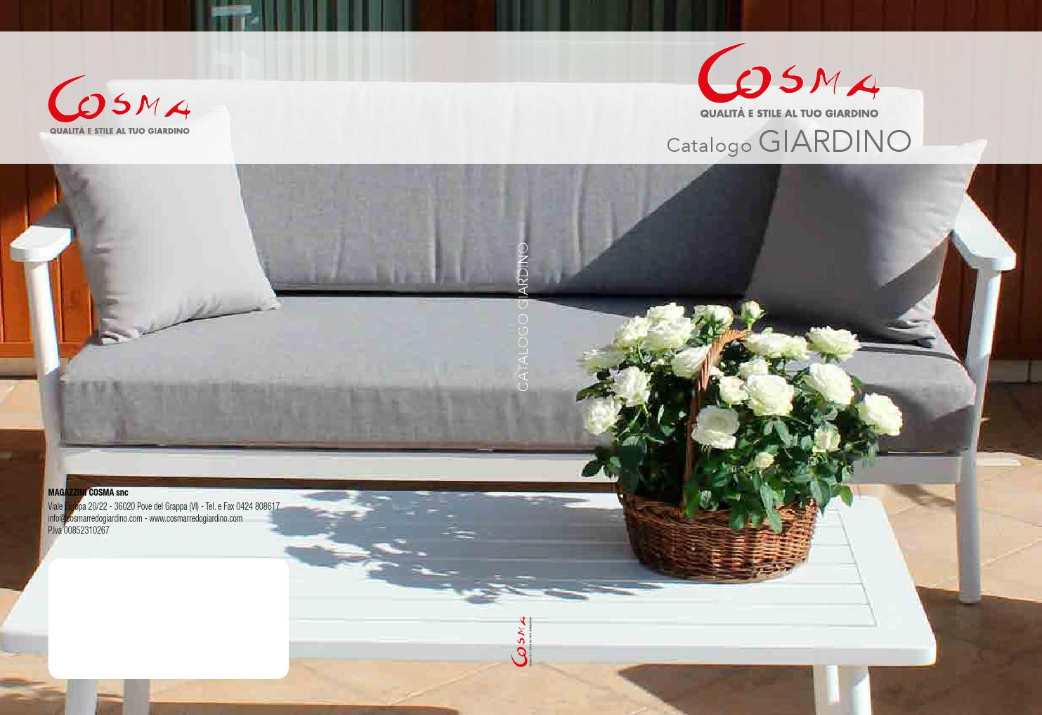 Catalogo 2016 giardino by cosma center sas issuu for Catalogo giardino