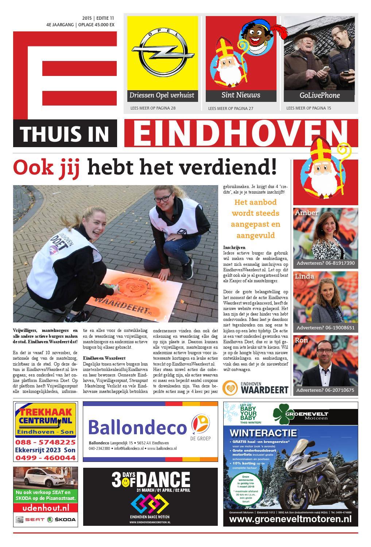 Woensel November Editie Eindhoven Thuis By 2015 In BWeroxdC