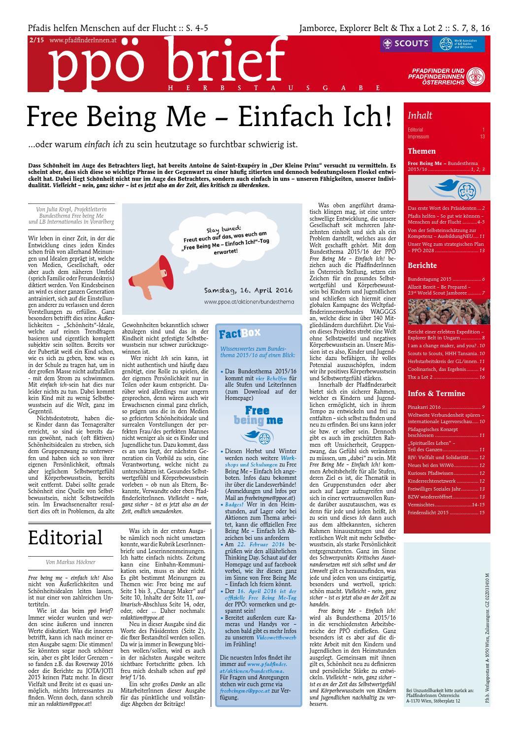 ppö brief 2/15 by Pfadfinder und Pfadfinderinnen Österreichs - issuu