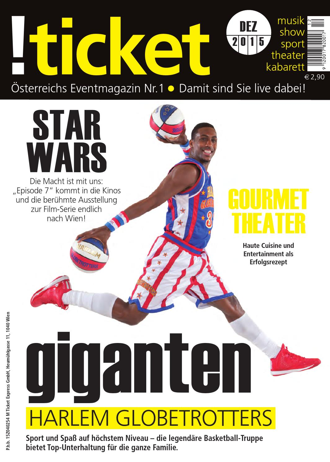 Ticket Dezember 2015 By Ticket Das Eventmagazin Issuu