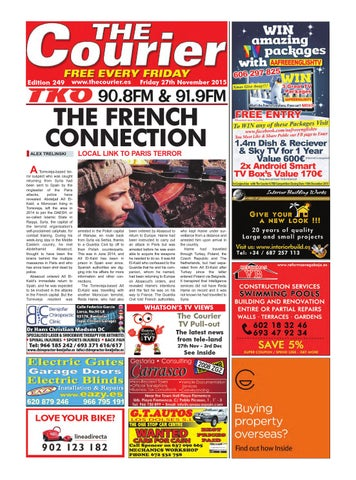 The Courier Edition 249 By The Courier Newspaper Issuu