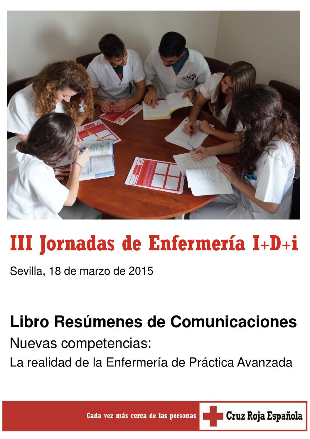III Jornadas de Enfermería I+D+i. Libro de Comunicaciones. by ...