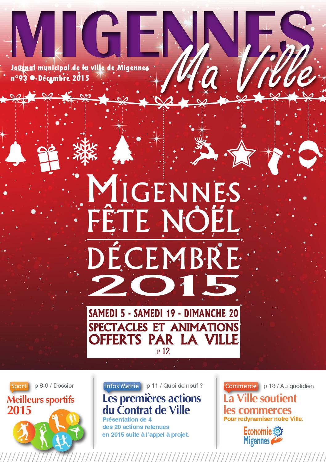 by 93 Migmaville hd 2015 Ville issuu Migennes de decembre MGLVSUqzp