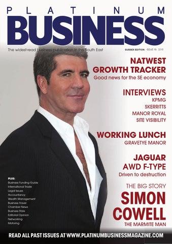 85f8478b98 PLATINUM BUSINESS MAGAZINE - ISSUE 18 - SUSSEX EDITION by Platinum ...