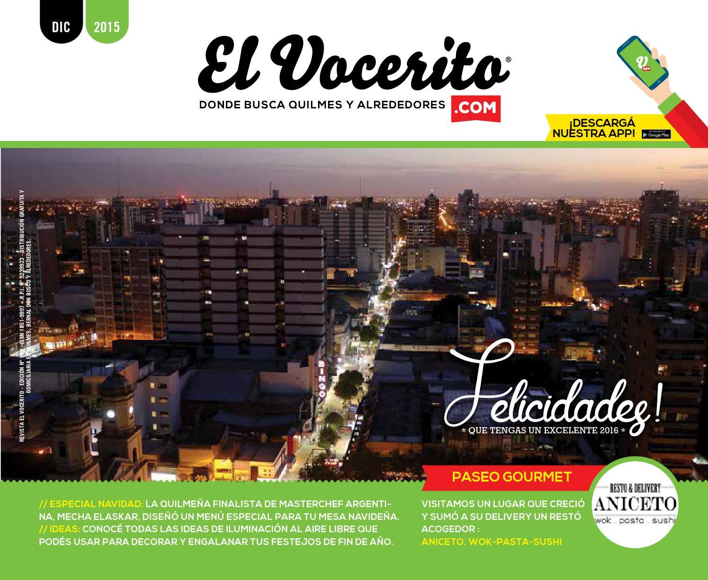 Revista El Vocerito Ed Diciembre 2015 By Elvocerito Com  # Muebles Para Consultorio Nutricional