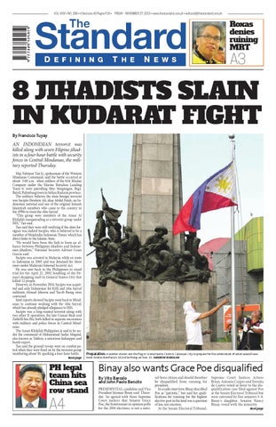 The Standard - 2015 November 27 - Friday by Manila Standard - issuu