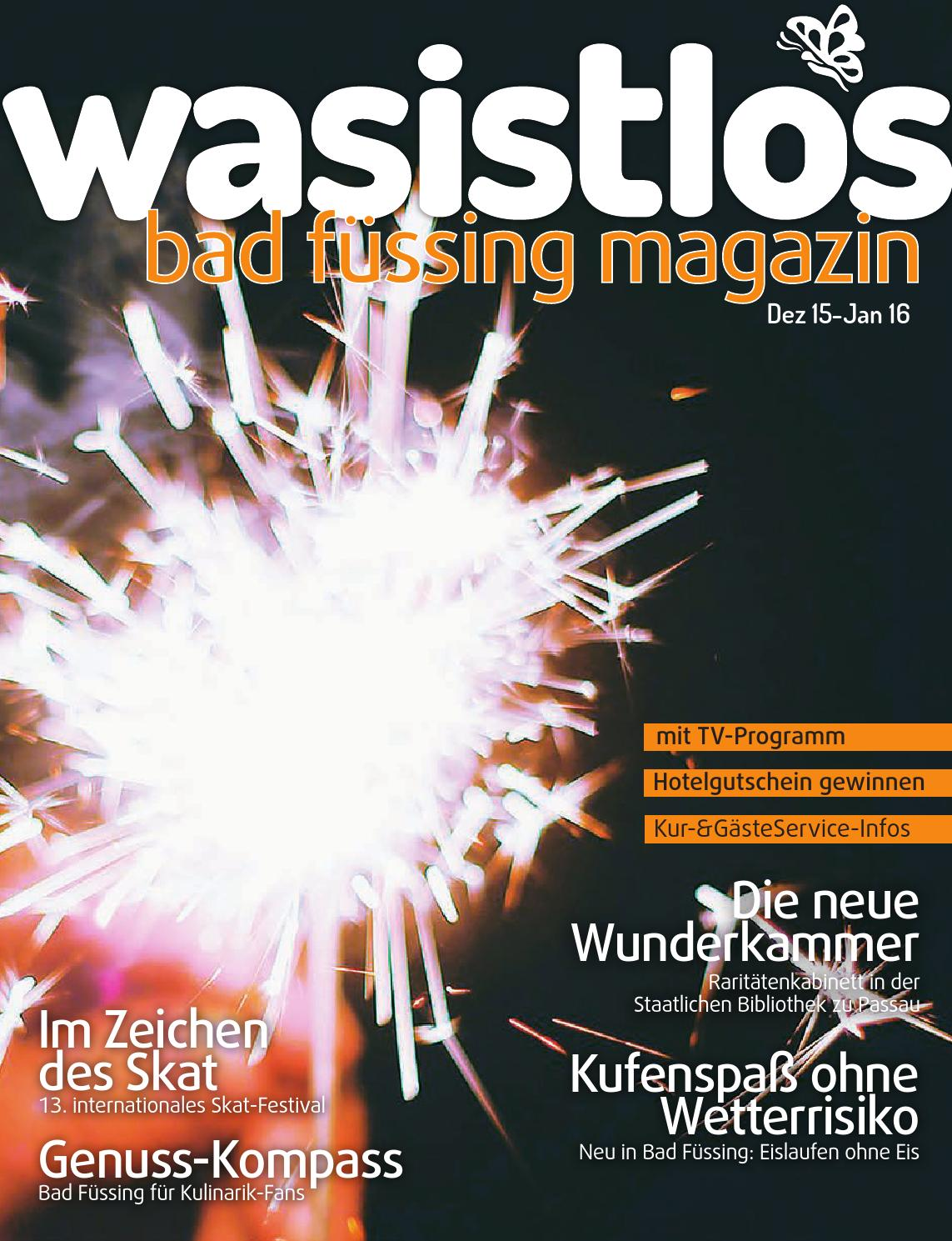 Wasistlos Bad Füssing Magazin Dezember 2015 / Januar 2016 by remark ...