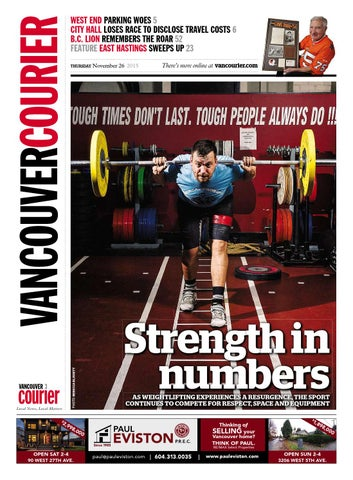 b03e34cd Vancouver Courier November 26 2015 by Vancouver Courier - issuu