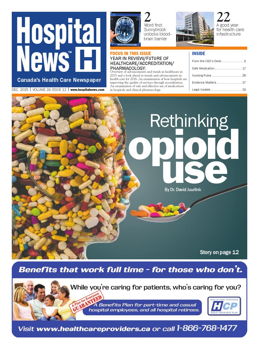 Hospital News 2015 December Edition By Issuu Hidden Wiring Inwall Cable Concealment Mississauga Toronto Oakville