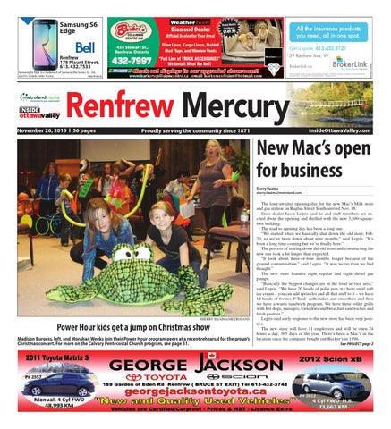 Renfrew112615 by Metroland East - Renfrew Mercury - issuu f05bc7f66
