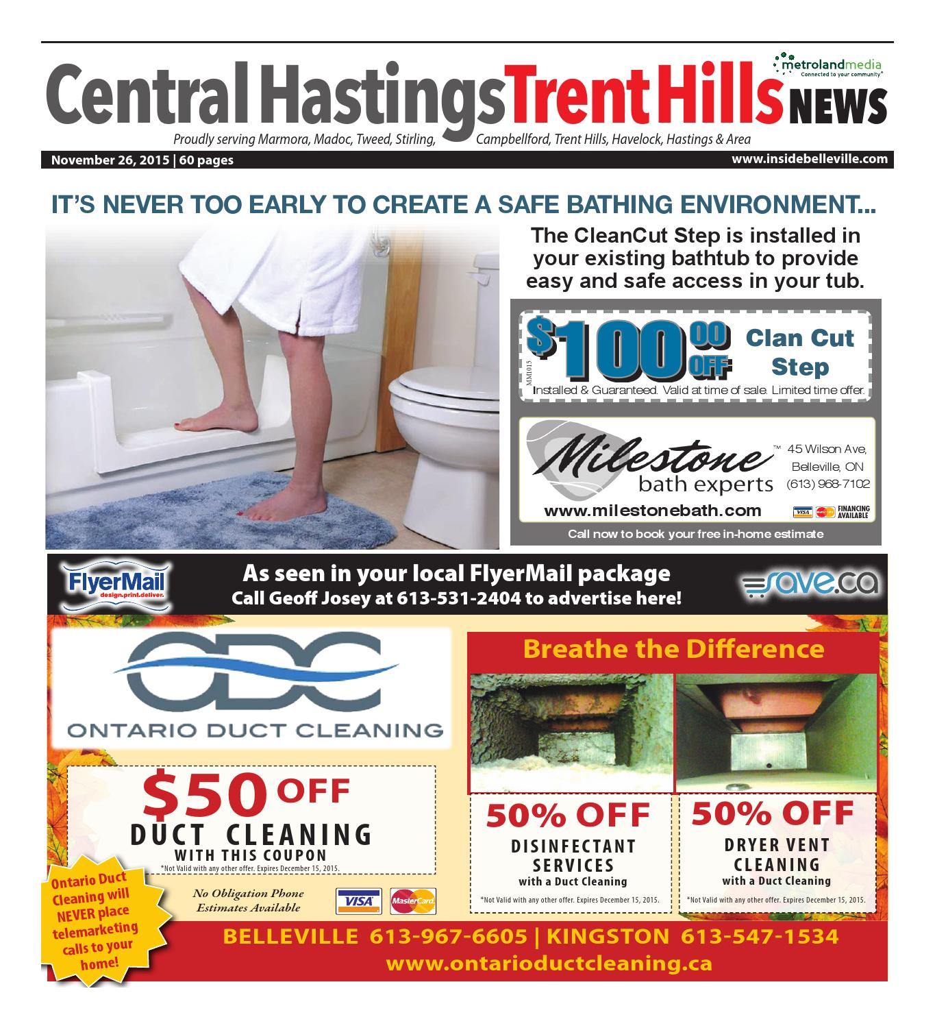 Chth112615 By Metroland East Central Hastings News Issuu