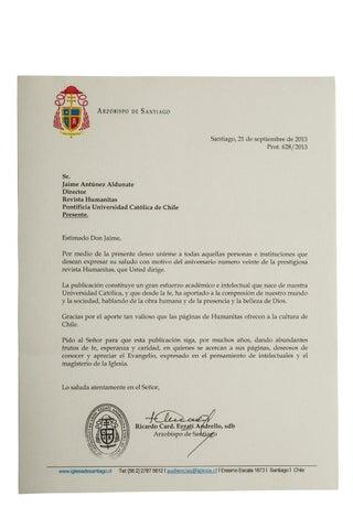 Cartas Aniversario Humanitas 80 By Revista Humanitas Issuu
