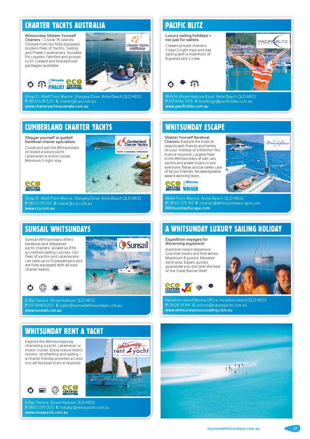 The Whitsundays Visitor Guide 2016 by Vink Publishing - issuu