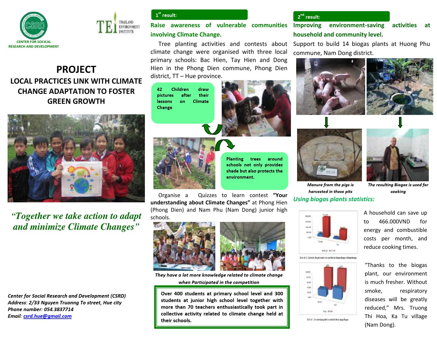 Factsheet TEI project by Tran Thi Thanh Tam - issuu