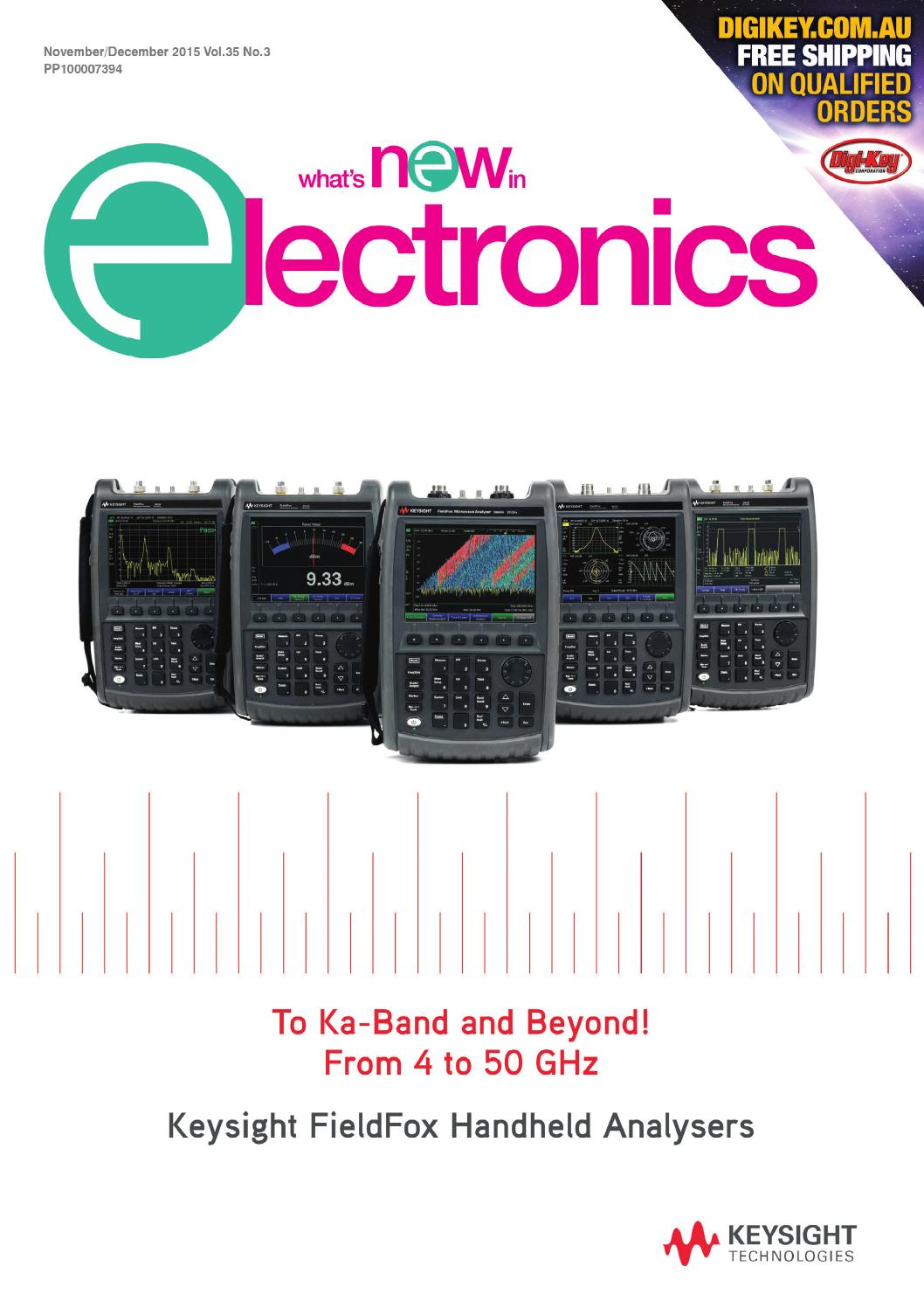 Audio Spectrum Analyzer Circuit Led 03 120x120 Whats New In Electronics Nov Dec 2015 By Westwick Farrow Media Issuu