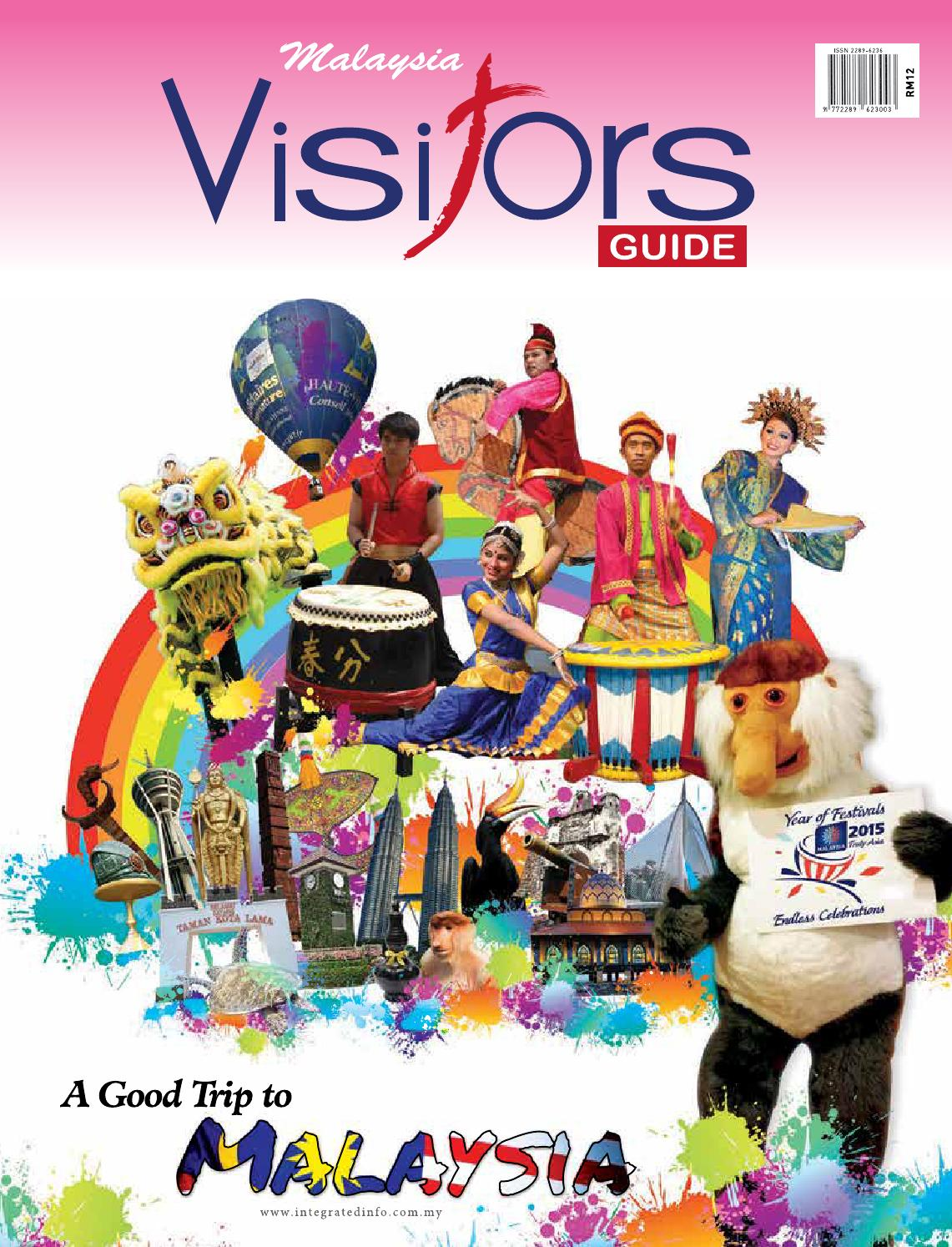 55d17c419fa Malaysia Visitors Guide 2015 (26th Edition) by Tourism Publications  Corporation Sdn Bhd - issuu