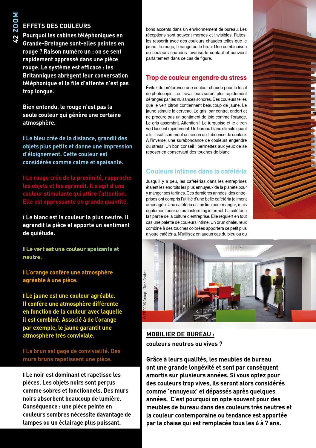 Couleur Apaisante Pour Bureau focus archi be fr n°07eurobest products - issuu