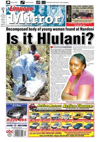 27 November 2015 - Limpopo Mirror by Zoutnet - issuu