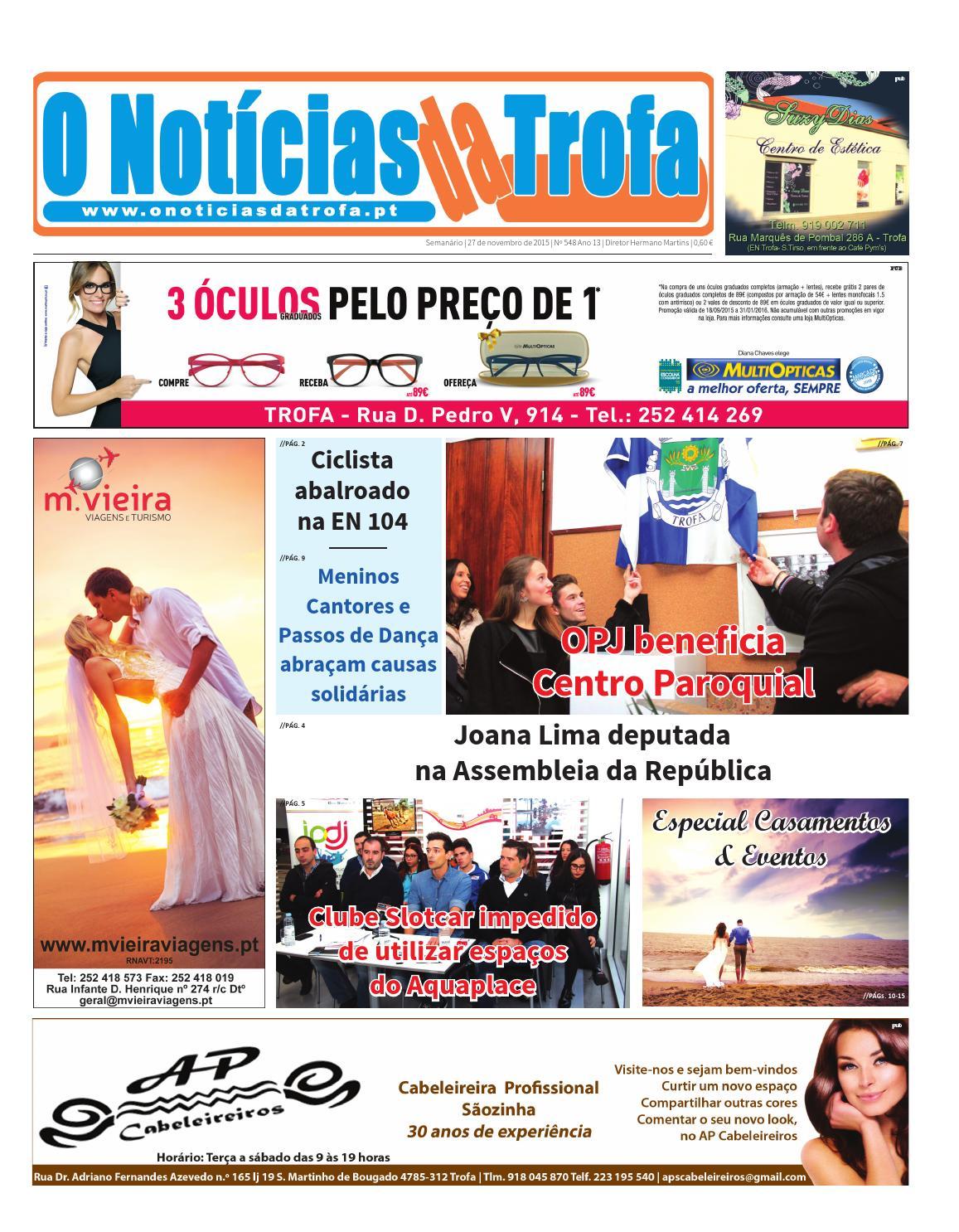 a209d3f220811 Edição 548 do jornal O Noticias da Trofa by O Notícias da Trofa - issuu