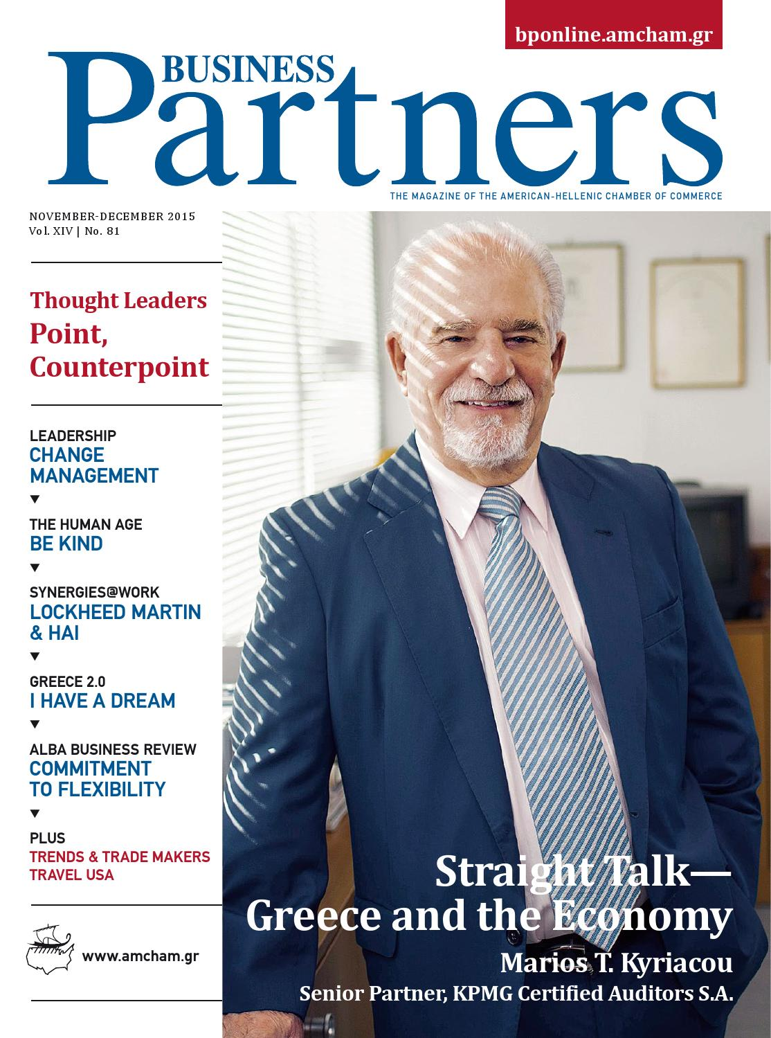 33f6e66ce Business Partners | November-December 2015 by Raymond Matera Publishing -  issuu