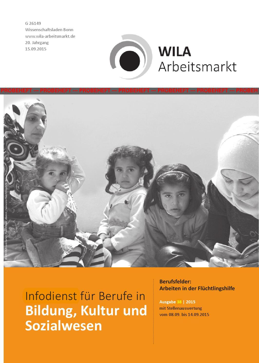 WILA Arbeitsmarkt - Infodienst für Berufe in Bildung, Kultur und ...